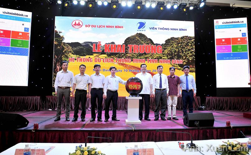 Launching smart tourism system in Ninh Binh