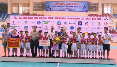 The 22nd Ninh Binh Radio and Television Broadcasting Station (Ninh Binh RTBS) Cup 2016 for youth football