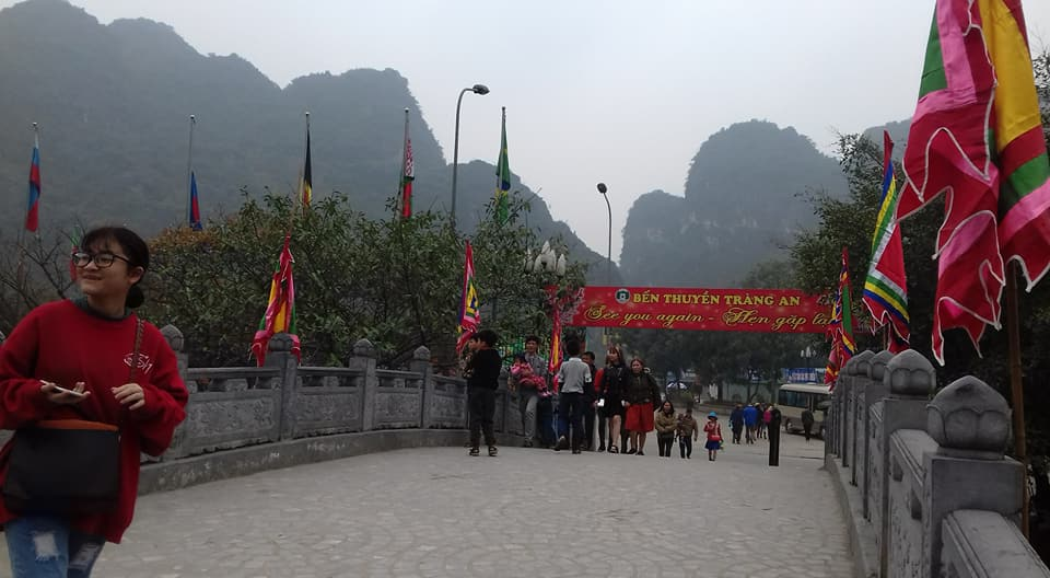 Ninh Binh a accueilli plus de 730.000 touristes  pendant le Têt traditionnel